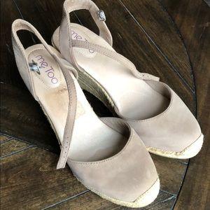 Espadrille wedge heels by Me Too